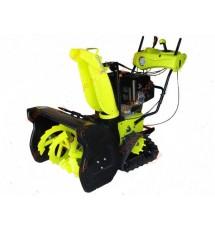 Снегоуборщик гусеничный бензиновый Grunfild 30355