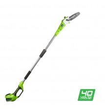 Аккумуляторный высоторез Greenworks G40PS20